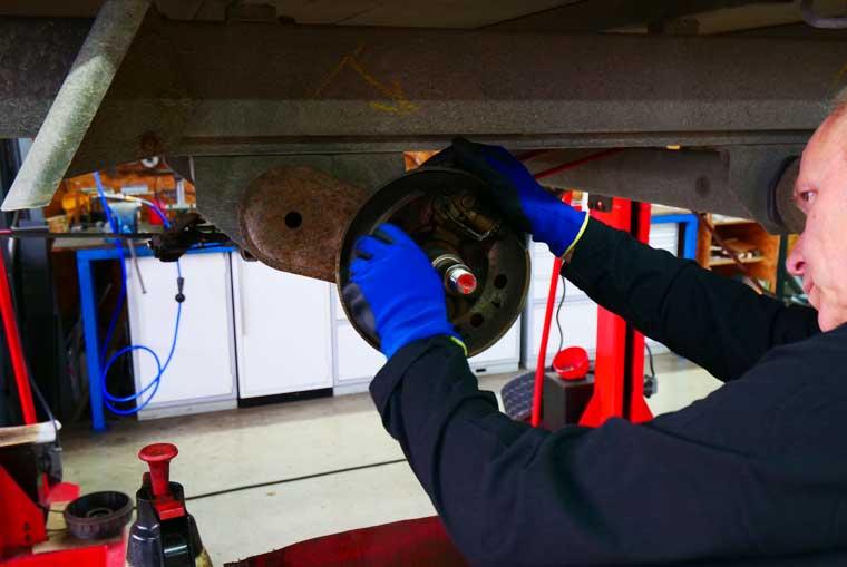 Caravaning Degmayr, Werkstattarbeit